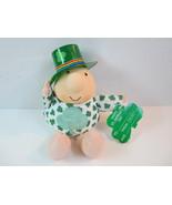 St Patricks Day Top O' Mornin Plush Irish ZIGGY... - $12.99