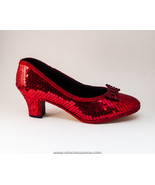 Sequin | Red French Kitten High Heels Pumps Sho... - $99.99
