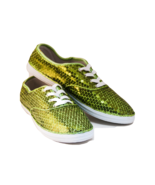 Sequin CVO Lime Green Canvas Fashion Sneakers T... - $39.99