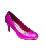 Glitter Hot Fuchsia Pink High Heels Pumps Dress... - $99.99