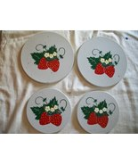 Strawberry burner covers set of 4 - $14.95