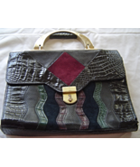 M C Marc Chantal Genuine Leather  Multi-Tone Pu... - $34.99