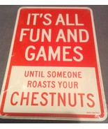 Christmas Fun & Game until Roast Chestnuts funn... - $3.99