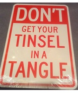 Christmas Don't Get Your Tinsel in a Tangle Wat... - $3.99