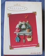Gardeners Hallmark Keepsake Ornament Christmas ... - $8.93