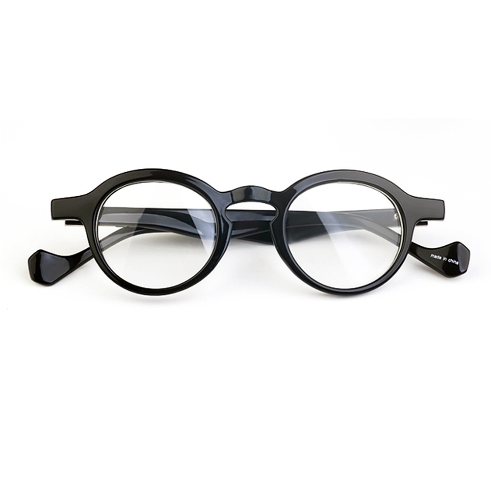 1920s Vintage oliver retro eyeglasses oz6 black round ...