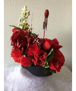 SOLD! SOLD!1  Ella's Floral Arrangement - Black... - $50.00