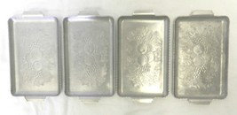 Lot of 4 Fruit Grain Farm Harvest Hammered Alum... - $49.47