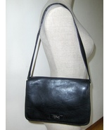 Tommy Hilfiger Black Leather shoulder Purse Han... - $14.97