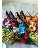 Floral Shoe Custom Order - $45.00
