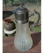 Antique Victorain Glass Coffee Tea Carafe Decan... - $85.00