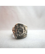 Vintage Wm A Rogers AL Silver Spoon Ring Chunky... - $34.64