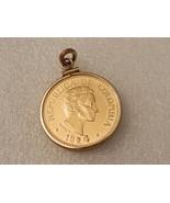 Gold 1924 Cinco Pesos G 7.988 set in gold bezel... - $683.09