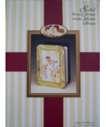 SOLID BRASS FRONT MINI PHOTO ALBUM ANGEL - $10.00