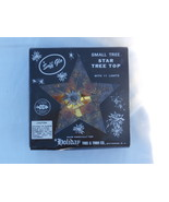 Christmas Star Tree Topper with Blinking Lights... - $12.99