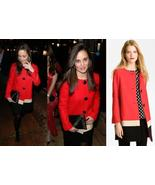 New Kate Spade new york Garby wool red black co... - $300.00