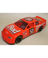 Bud 50 Budweiser King of Beers Red Model Car Mo... - $9.95