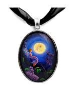 Lilac Fairy Purple Flower Blue Moon Fantasy Han... - $29.99