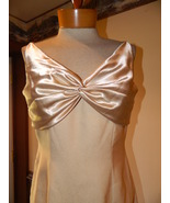 Watters & Watters size 8 Gold Formal Prom Pagea... - $39.99