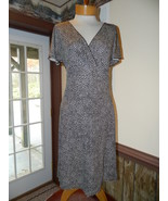 Ann Taylor size 4 Brown Dot Work Church Date dr... - $25.99
