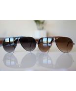 Vintage Aviator Sunglasses Maroon/ Ultra Marine... - $22.00