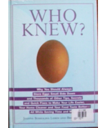 WHO KNEW BY JEANNE BOSSOLINA LUBIN AND BRUCE LUBIN - $10.00