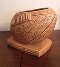 Vintage FOOTBALL Planter Vase #457 Made in Japan - $13.98