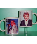 Rod Stewart 2 Photo Designer Collectible Mug 01 - $14.95