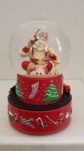 Hallmark Coca Cola Santa Musical Snow Globe 200... - $8.99