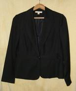 Womens Sz 10   Merona Black One Button Front Sh... - $14.99