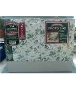 2 Notebooks, 1 File Box for Photographs - $25.00