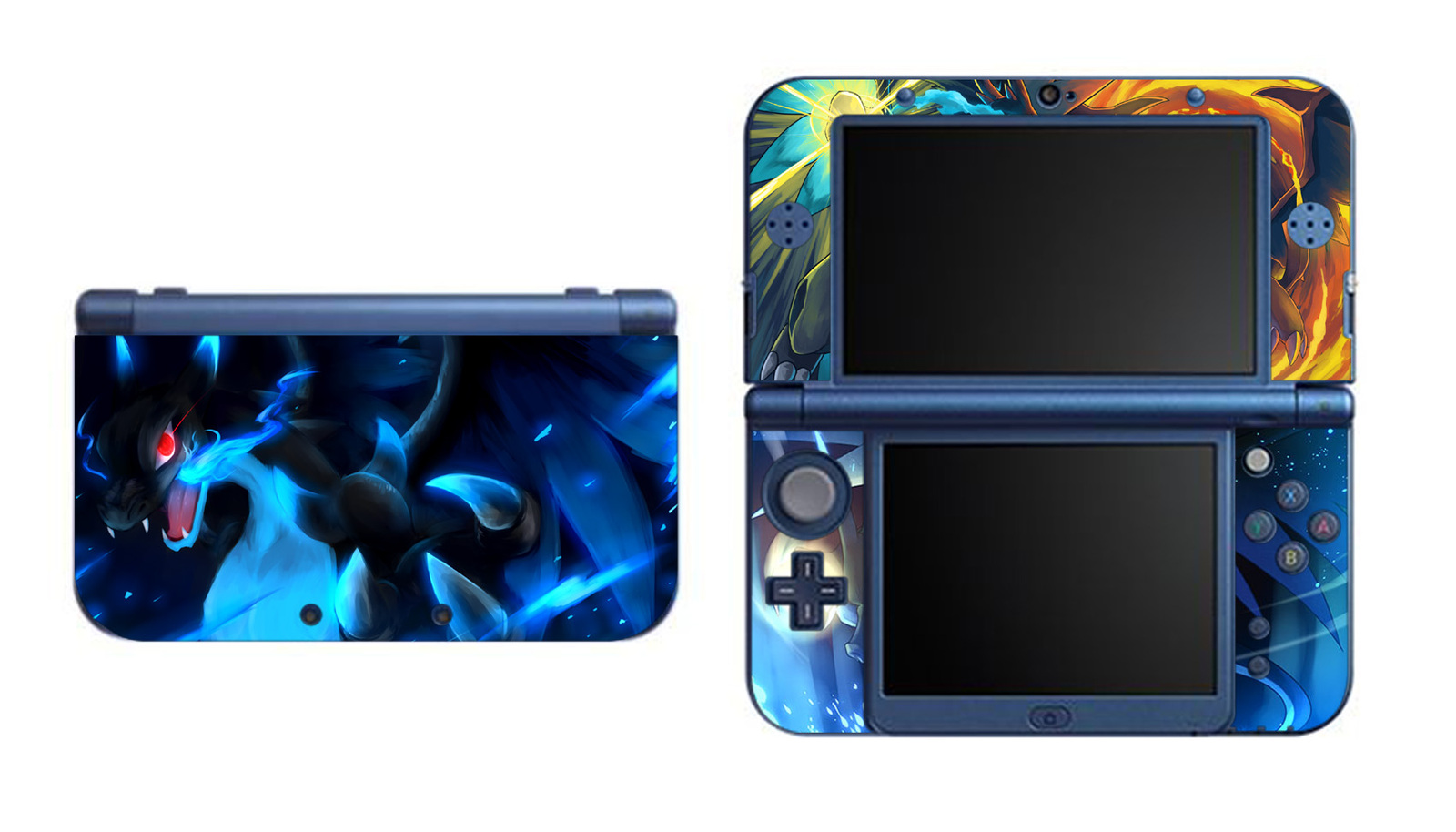 Pokemon Charizard X Y New Nintendo 3ds Xl Ll Vinyl Skin
