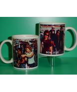 Bon Jovi 2 Photo Designer Collectible Mug 01 - $14.95