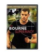 The Bourne Supremacy Matt Damon Widescreen DVD ... - $5.99