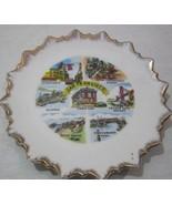 Souvenir Plate SNCO San Francisco California Po... - $15.00