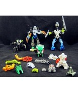 10 Oz LEGO Bionicle Parts Pieces 4 Near Complet... - $22.00