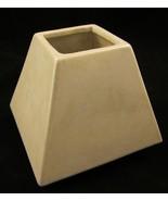 White Iridescent Square Candle Holder Decorativ... - $15.00