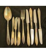 9 Pc Set Oneida Reverie Silverplate Dinner Fork... - $25.00