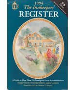 The Innkeepers Register 1994 Country Inns of No... - $5.00