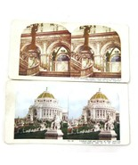 2 Antique Stereoview Cards TW Ingersoll Congres... - $15.00