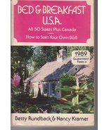 Bed & Breakfast USA All 50 States & Canada How ... - $5.50