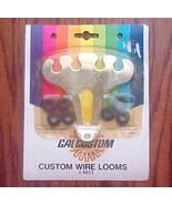 2 Chrome Wire Looms NOS Pkg Cal Custom 1981 w g... - $7.00