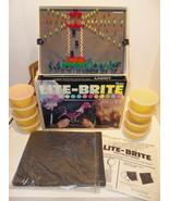 Vintage 1976 Hasbro Lite-Brite w Original Box P... - $83.74