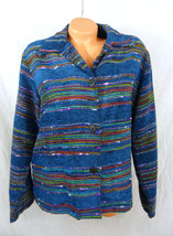 Womens M Medium Coldwater Creek Button Front Ta... - $23.33