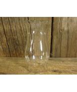 Kerosene Lamp Shade Chimney Clear Glass Scallop... - $16.00