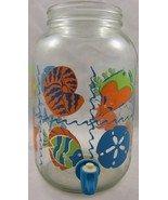 Iced Tea Lemonade Jug with Spigot Fun Summer Fi... - $20.00