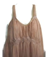 Dusty Rose Pink Nightie Nightgown Women's Mediu... - $20.00