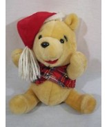 Winter Christmas Disney Winnie Pooh Stuffed Ani... - $12.00