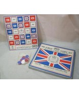 Zzota Jubilee Union Jack Race Game Set 1977 Eng... - $15.00