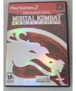 Mortal Kombat Armageddon Sony PlayStation 2 PS2... - $18.00